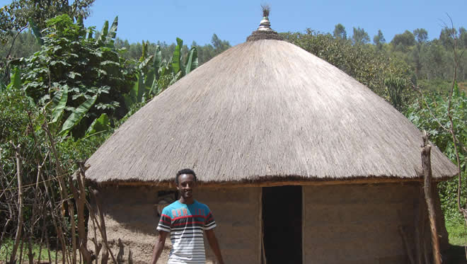 Hawassa Sidama Traditional House